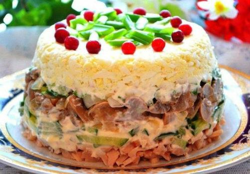 Салат Ирина — нежный салат для вашего праздничного стола