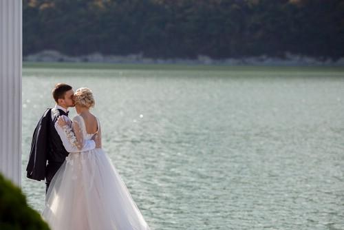 Мгновения свадьбы - на фотоснимках в альбоме