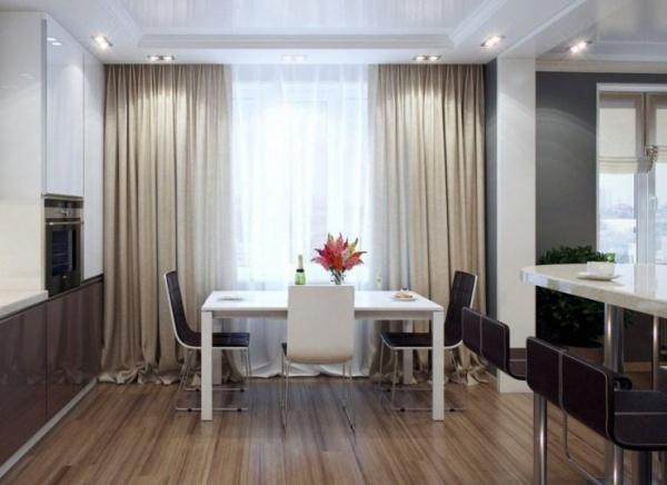Занавески в гостиную — на что обращать внимание при выборе