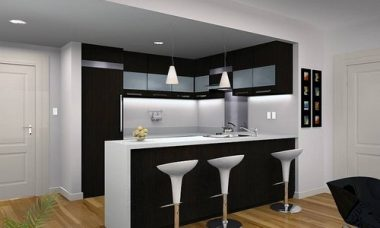 Барная стойка для кухни, как разместить?